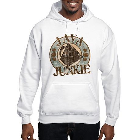 Java Junkie Hooded Sweatshirt