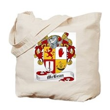 McBean Family Crest Tote Bag