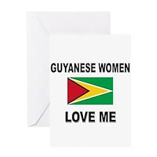 Guyanese Women Love Me Greeting Card