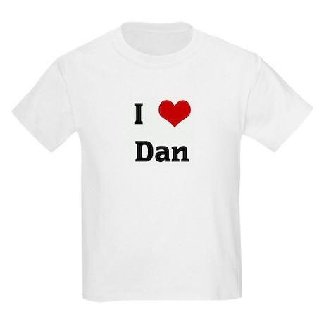 I Love Dan Kids Light T-Shirt