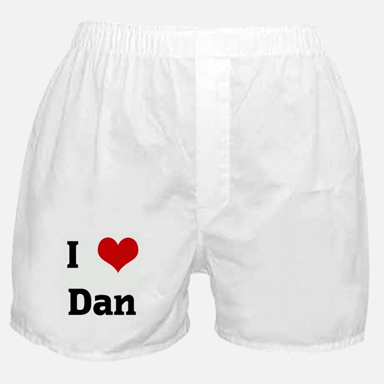 I Love Dan Boxer Shorts