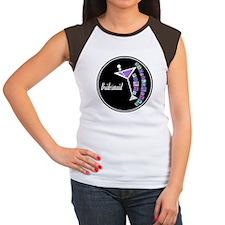 Retro Bridesmaid Women's Cap Sleeve T-Shirt