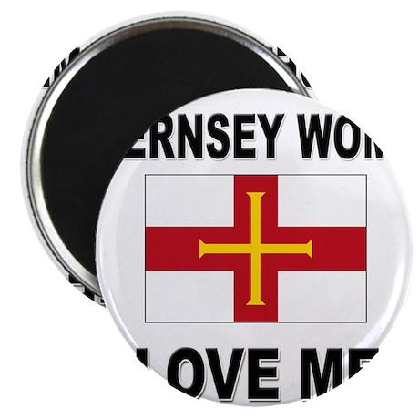 Guernsey Women Love Me Magnet