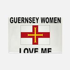 Guernsey Women Love Me Rectangle Magnet (10 pack)