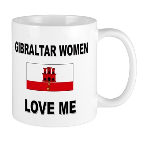 Gibraltar Women Love Me Mug