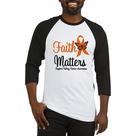 Kidney Cancer Faith Matters Baseball Jersey