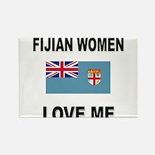 Fijian Women Love Me Rectangle Magnet