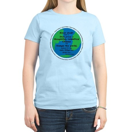 Change the World Women's Light T-Shirt