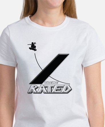 Xtreme Rated-Skater Girl Women's T-Shirt