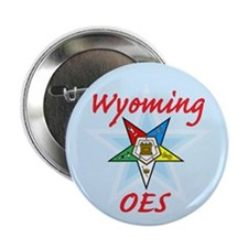 """Wyoming Eastern Star 2.25"""" Button (10 pack)"""