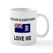 Falkland Islander Women Love Me Mug