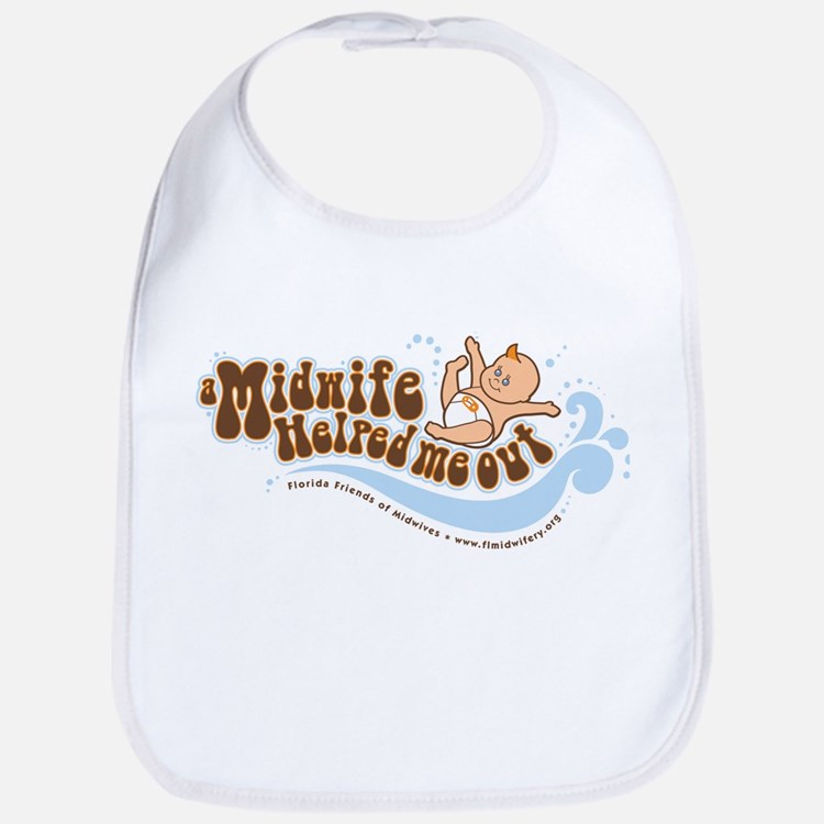 A Midwife Helped Me Out Bib