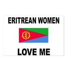 Eritrean Women Love Me Postcards (Package of 8)