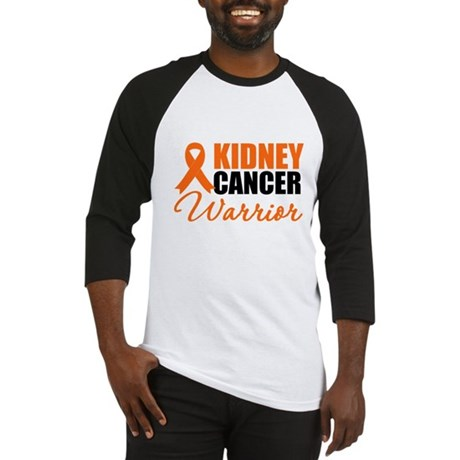 Kidney Cancer Warrior Baseball Jersey