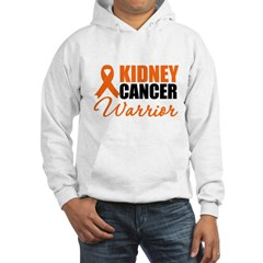 Kidney Cancer Warrior Hooded Sweatshirt