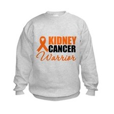 Kidney Cancer Warrior Sweatshirt