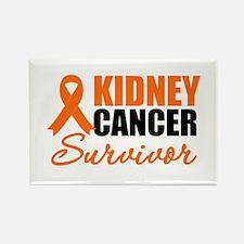 Kidney Cancer Survivor Rectangle Magnet
