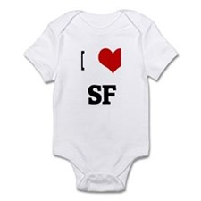 I Love SF Infant Bodysuit