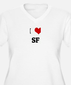 I Love SF T-Shirt