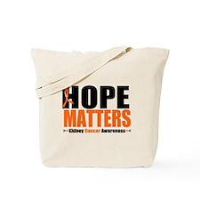 Hope Matters Kidney Cancer Tote Bag