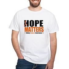 Hope Matters Kidney Cancer Shirt