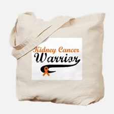 Kidney Cancer Warrior Tote Bag