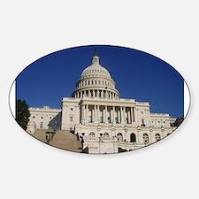 Washington DC Oval Decal