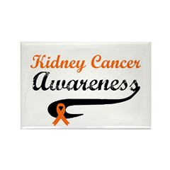 Kidney Cancer Awareness Rectangle Magnet (10 pack)