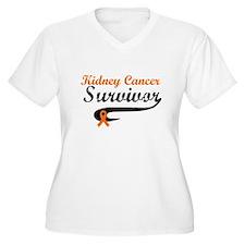 Kidney Cancer Grunge T-Shirt
