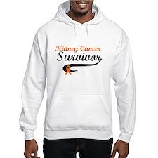 Kidney Cancer Grunge Hoodie