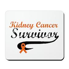 Kidney Cancer Grunge Mousepad