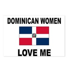 Dominican Women Love Me Postcards (Package of 8)