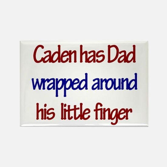 Caden Has Dad Rectangle Magnet