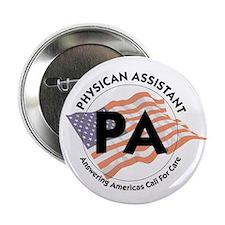 "Patriotic Physician Assistant 2.25"" Button (10 pac"