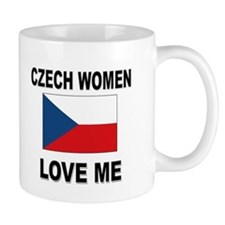 Czech Women Love Me Mug
