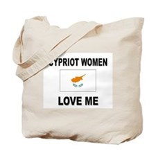 Cypriot Women Love Me Tote Bag