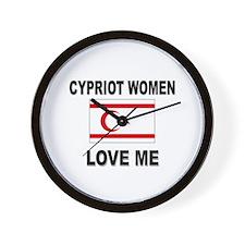 Cypriot Women Love Me Wall Clock
