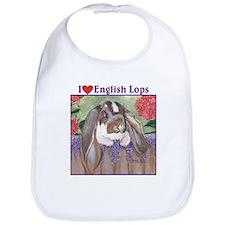 English Lop Rabbit Bib