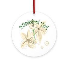 Mississippi Girl Keepsake (Round)