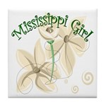 Mississippi Girl Tile Coaster