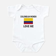 Colombian Women Love Me Infant Bodysuit