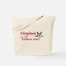 Virginia Eastern Star Tote Bag