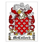 McCulloch Family Crest Small Poster