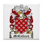 McCulloch Family Crest Tile Coaster