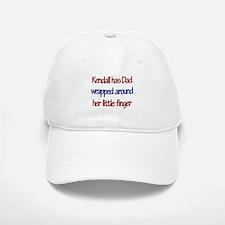 Kendall Has Dad Baseball Baseball Cap