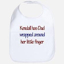 Kendall Has Dad Bib