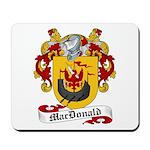 MacDonald Family Crest Mousepad