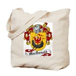 MacDonald Family Crest Tote Bag