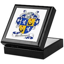 MacDougall Family Crest Keepsake Box