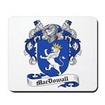 MacDowall Family Crest Mousepad